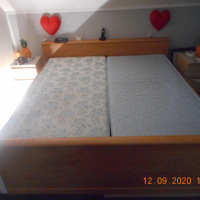 mooi groot 2 persoons bed
