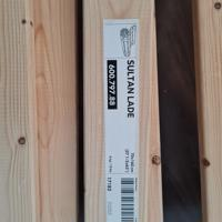 Bruin IKEA kinderbed 77 x 167 cm