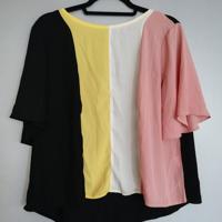 shirt 4 kleuren wijd model L-XL