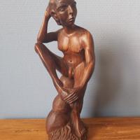handgemaakte man 30 x 11 cm