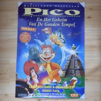 Filmposter 'Pico en het geheim van de gouden tempel' (1995)