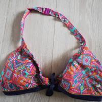 bikinitop halter kleurrijk L