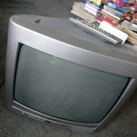 Draagbare televisie