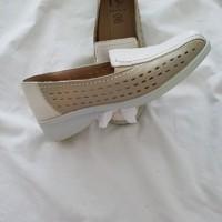 PIA / Welness     Beige - ecru leren schoenen - maat 38