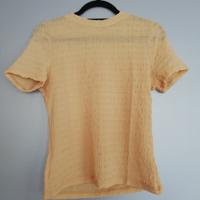 shirt mosterd geel bewerkt 164/170
