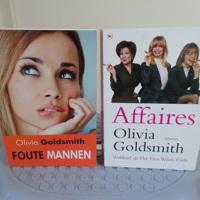 Olivia Goldsmith : Affaires + Foute mannen ( chicklit roman