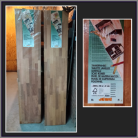 Mooie eucalyptus timmer panelen.