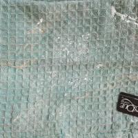 kussenhoes mintgroen /lichtblauw nieuw in verpakking €4