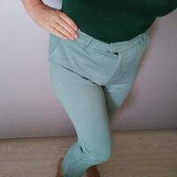 NIEUW broek pastel mintgroen maat 40 €14,99