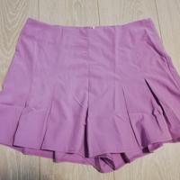 korte broekrok lila paars L