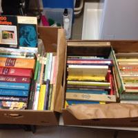 Klein formaat boeken diverse titels en soorten uitgeverijen