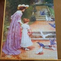 Nostalgische puzzel van Fame Puzzles - 1000 stukjes