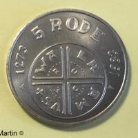 5 Rode 1983 Lokaal munt uit Kerkrade € 1.95