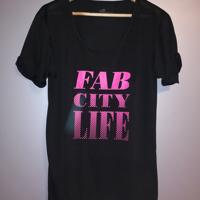 sportshirt fab city life L