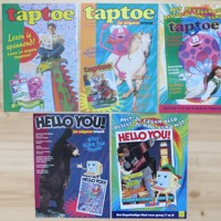 Verjaardagskalenders taptoe en Hello You (uit jaren 1990)