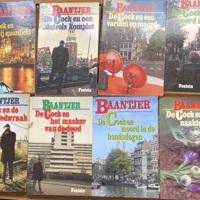 Baantjer boeken 8 stuks