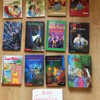 Griezelboeken en spannende boeken  ( 9 + / 10 +) los te koop