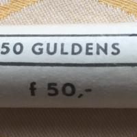 1 rol Guldens 1980 van 50 stuks UNC