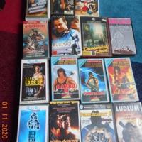 12 originele video banden