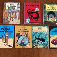 Hergé De avonturen van Kuifje serie 7 stuks Hardcover strips