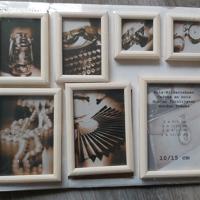 nieuw decoratie fotolijsten set van 7 hout