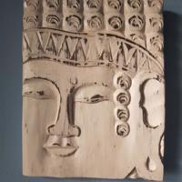 decoratie muurschilderij whitewash boedah handgemaakt