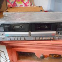 JVC dubbel cassette deck