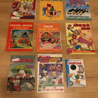 Stripboek , comic , strip diverse soorten ook los te koop