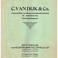 Zeer oude prijscatalogus/courant 95 jaar uit Januari 1926