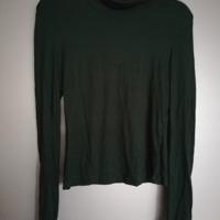 col shirt zacht groen M