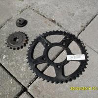 Honda CB 750 tandwiel niet gebruikt