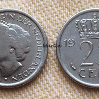 25cent van Wilhelmina 1948 t/m Juliana-Beatrix 1987