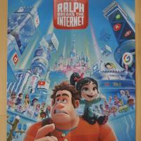 Filmposter Ralph breaks the internet (uit 2018)
