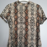 shirt met slangenprint XL