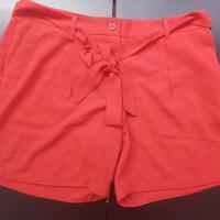 korte broek met koord rood M