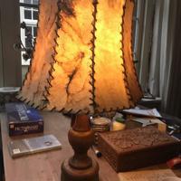Vintage jaren 70 lamp