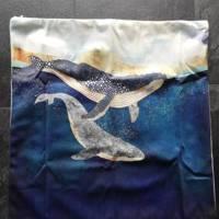 set van x kussenhoes dolfijnen