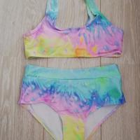 bikini pastelkleuren tye dye M