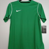 nike shirt groen wit 164