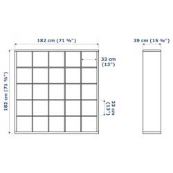 IKEA Kast 25 vakken