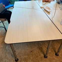 Verschillende tafels/bureaus
