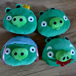 Angry Birds knuffels