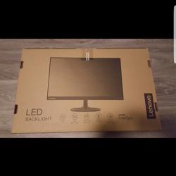 Pc monitor met LED verlichting