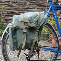 Set Achter-fietstassen voor fietskamperen