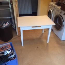 Verhoogde salontafel