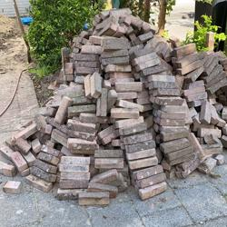 Stenen 20x7x5 goed voor ≈ 13 m2