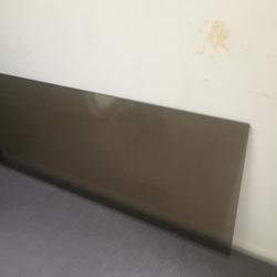 Glasplaat kan als bureaublad