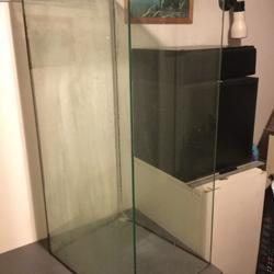 Glazen terrarium bak