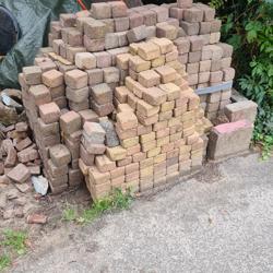 7,5 m2 Cobble stones 10 x 10 cm getrommeld