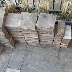 Tegels voor tuin bestrating 6m2